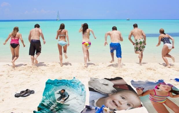 Consigue tu toalla de playa personalizada