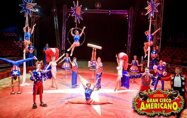 Últimas entradas al Gran Circo Americano