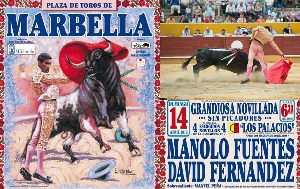 Gran novillada en Marbella