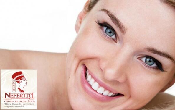 Tratamiento de luminosidad facial con aparatología
