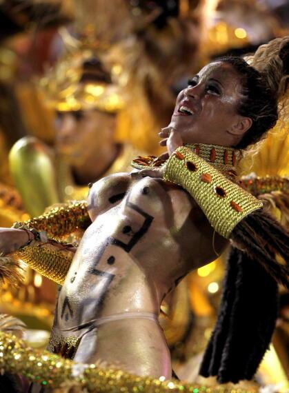 Los mejores cuerpos (garotas) del Carnaval de Brasil