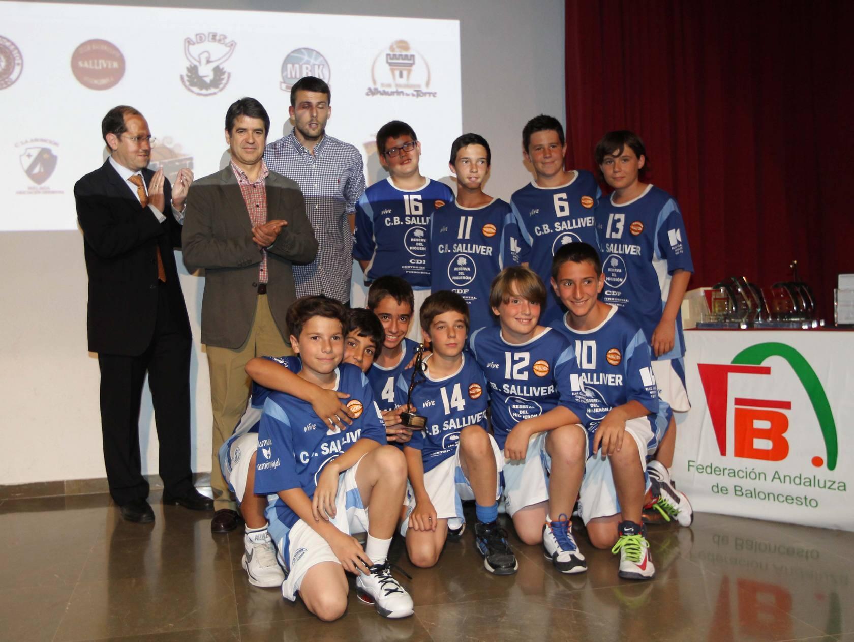 La gala del baloncesto provincial 2013 reparte sus premios