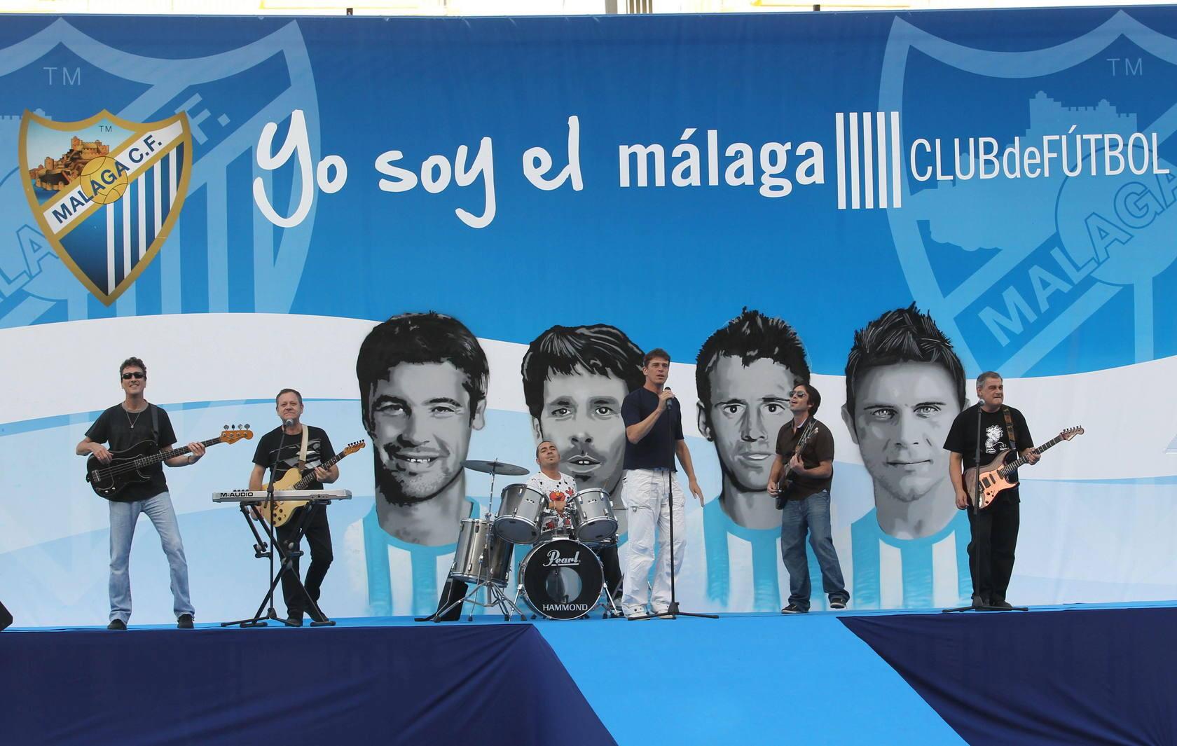El paso de Joaquín por el Málaga, en fotos