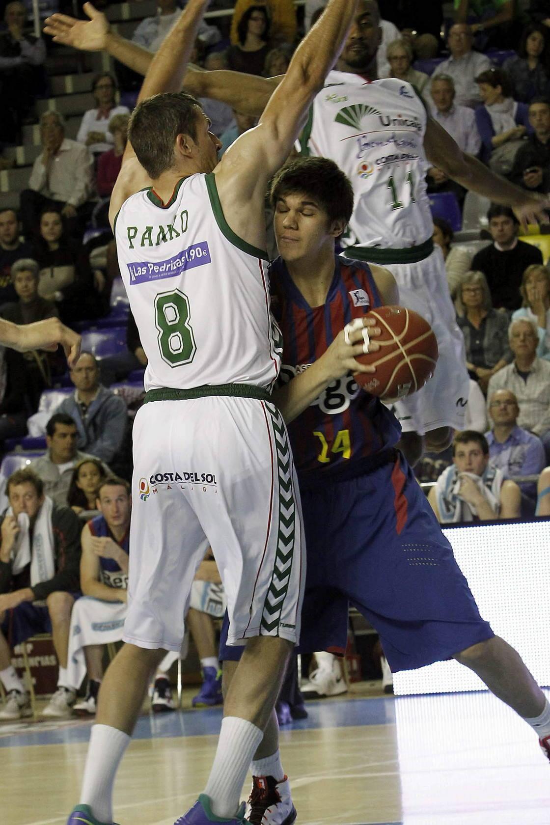 El Unicaja pierde en Barcelona (57-50)