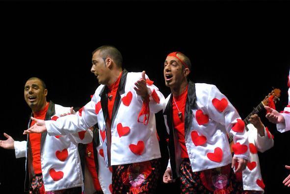 Fotos de las semifinales del Carnaval de Málaga 2012