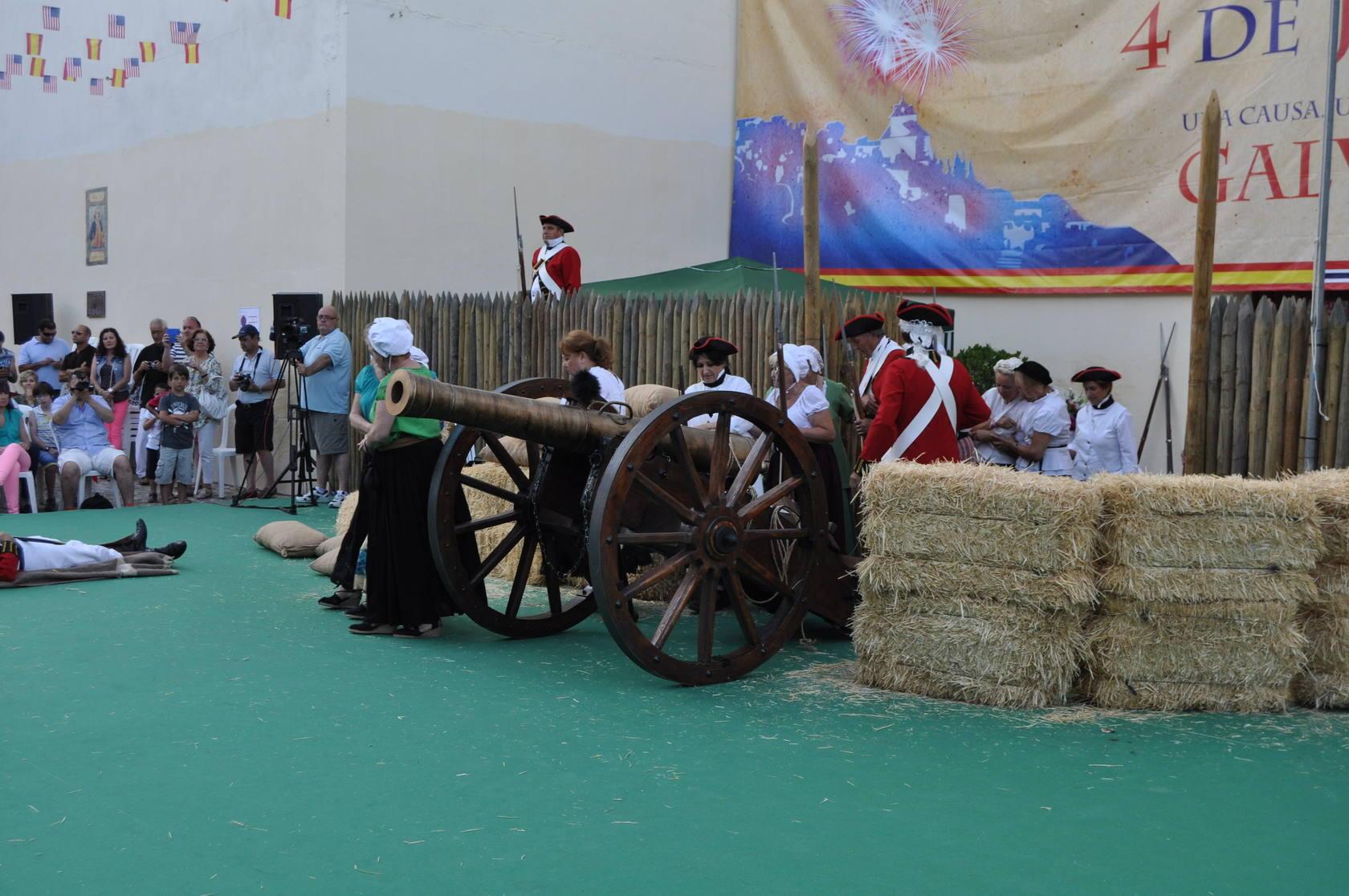 Macharaviaya celebra el día de la Independencia de Estados Unidos