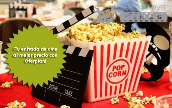 Entrada de cine a cualquier película