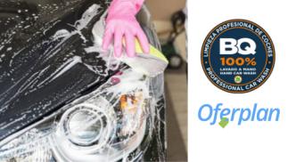 Limpieza de coche a mano completa con doble tratamiento de ozono
