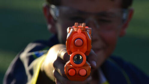 Batalla pistolas Nerf para niños