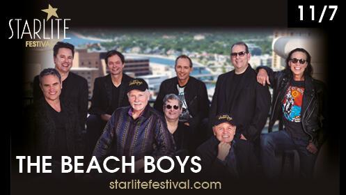 Compra dos entradas para The Beach Boys en Starlite y Menú en la Pesquera