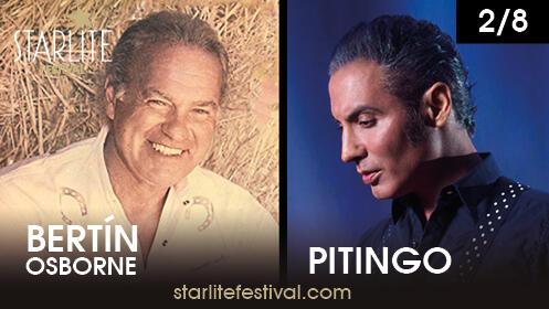Compra dos entradas para Bertín Osborne – Pitingo en Starlite y Menú en la Pesquera