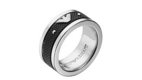 Regalos Día del Padre: anillo Emporio Armani (talla 23)