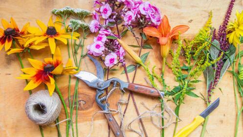 Curso online de Auxiliar de floristería