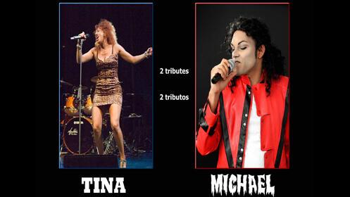 Concierto Tributo a Michael Jackson y Tina Turner el 18 de abril