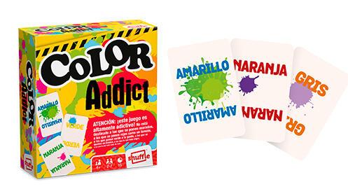 Juego de cartas de Toy Story 4 + Color Addict