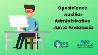 Curso online para oposiciones de Auxiliar Administrativo Junta Andalucía