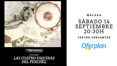 """Entrada VI Bienal de Flamenco: Gala de clausura """"Las cuatro esquinas del Perchel"""" – 14 septiembre"""