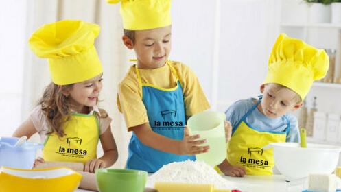 Campamento de cocina para niños La Mesa Málaga: Semana Blanca