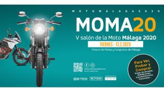 Entrada V Salón de la Moto MOMA20 - 13 de marzo