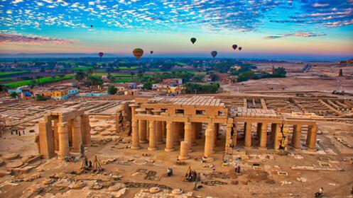 Egipto con Crucero por el Nilo