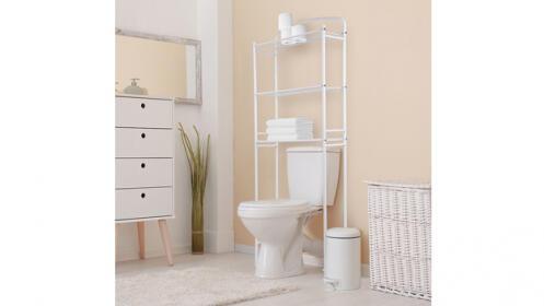 Mueble estantería para baño
