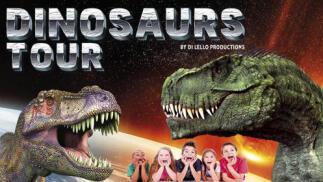 Entrada Dinosaurs Tour - Málaga - 1 al 16 de febrero