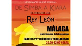 Entrada tributo Rey León 27 o 28 de agosto - Málaga