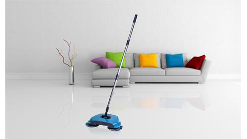 Escoba giratoria Spinning broom
