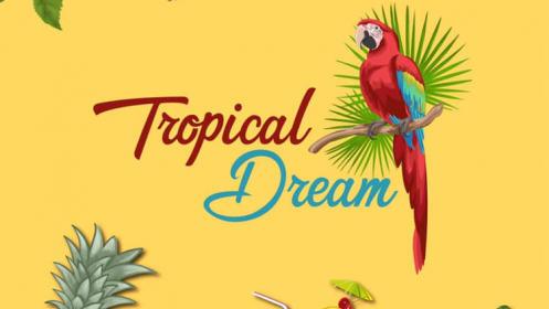 Menú para 2 en Tropical Dream