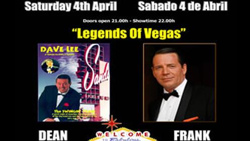 Concierto Tributo a Sinatra y Dean Martin el 4 de abril