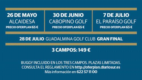 Costa del Golf Tour 2018: Alcaidesa, Cabopino, El Paraíso y Guadalmina (Final)
