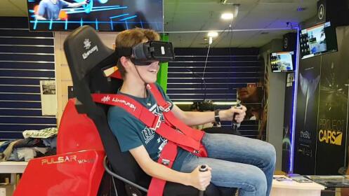 Disfruta de 1 hora de juego de Realidad Virtual con VRFUN