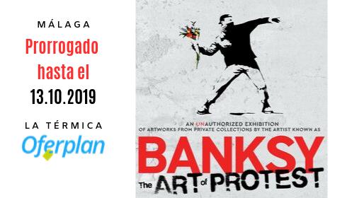 Últimas entradas exposición 'Banksy: the art of protest'