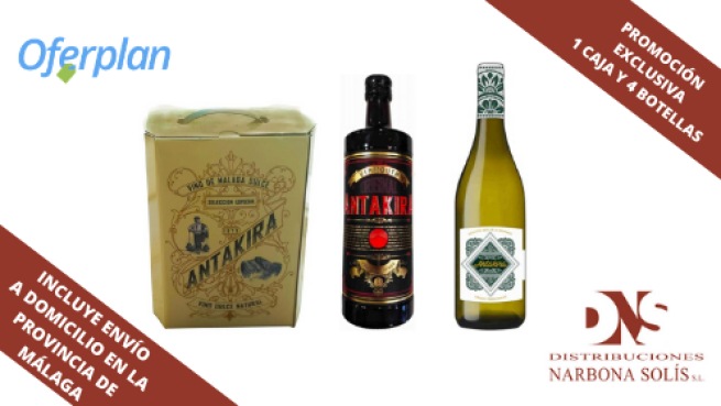 Pack vinos dulces y vermouth