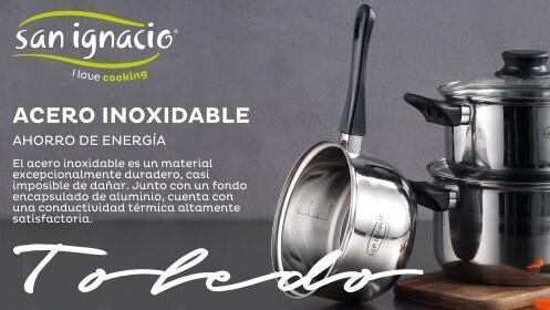 Sartenes y batería de cocina San ignacio