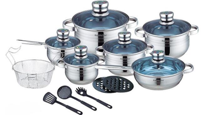 Batería de cocina 18 piezas Royalty Line