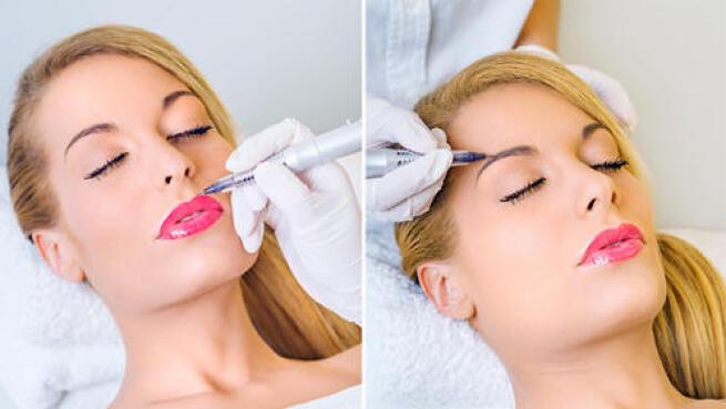 Micropigmentación de delineado, cejas o labios