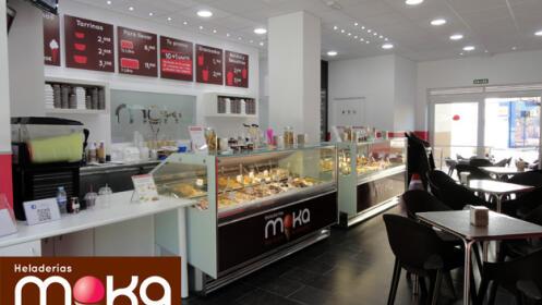 Litro de helado en Moka por 4 euros