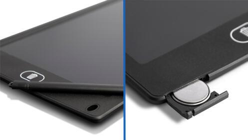 Pizarra magnética de escritura LCD