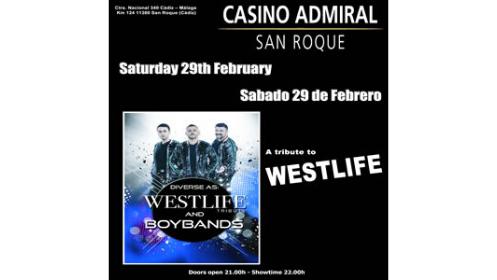 Entrada Tributo West Life & Boy Band  – 29 de febrero